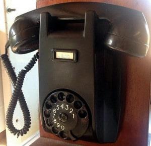 Telefoon en nog eens de telefoon