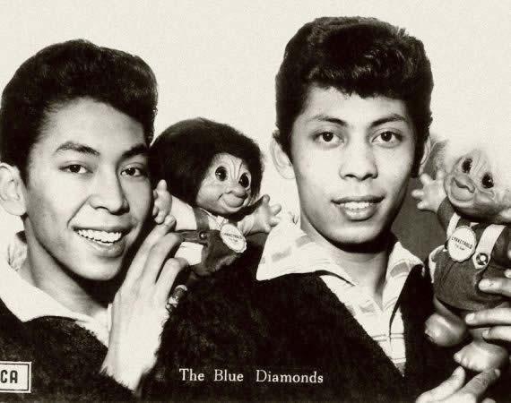 De 'scheiding' van The Blue Diamonds