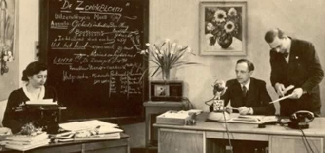 In de tijd dat de radio volop in Zonnebloem bloei stond