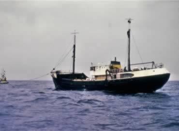 De zeezender die niemand hoorde