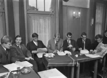 Jubileumviering AVRO's Minjon in 1968