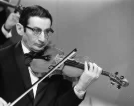 Benny Behr, een succesvolle violist uit Groningen