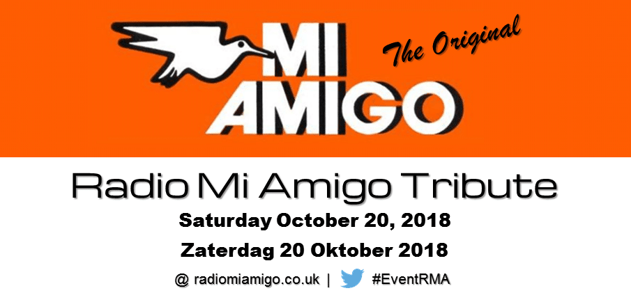 """Radio Mi Amigo Tribute"" op zaterdag 20 oktober 2018"