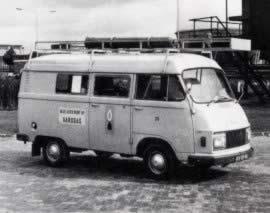 Eerste Europese experimenten met auto's op gas waren in Groningen