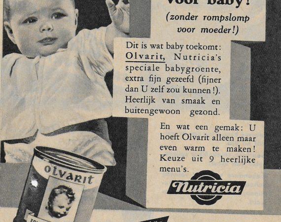 Het àller- àllerbeste voor baby in 1962